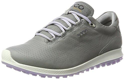 Ecco Women's Biom Hybrid 2, Chaussures de Golf Femme, Gris (Wild Dove/Crocus), 38 EU