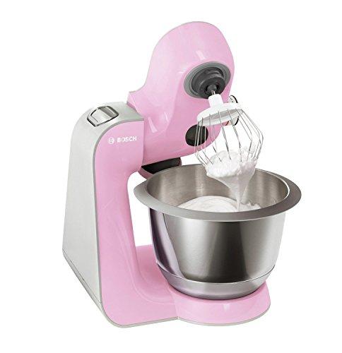 Foto de Bosch MUM58K20 - Robot de cocina (1000 W, acero inoxidable), color rosa palo
