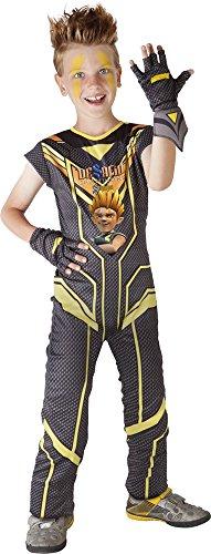 Herausforderung Kostüm - Herausforderung Champions Sendokai-Kostüm Sak, für Kinder (Rubie 's S8380) L keine Angaben