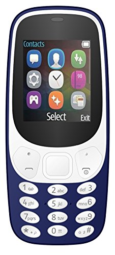 I KALL K3310 Dual Sim Mobile With Money Detector Light And BATTERY SAVER Option with 1 Year Warranty- Dark Blue