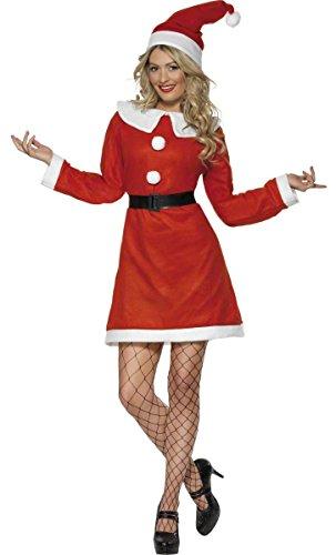 Imagen de disfraz de mamá noel para mujer en varias tallas para navidad