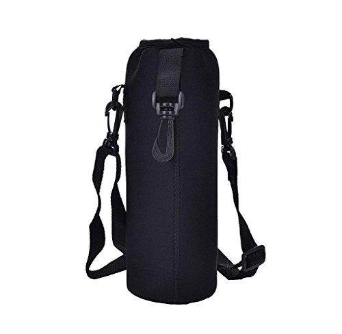 Wasser Flasche Carrier isoliert Cover Tasche Halter Gurt Tasche Outdoor ()