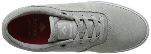 Emerica The Herman G6 Vulc, Chaussures de skateboard homme Grey/White