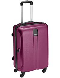 Safari Thorium Polycarbonate 66 cms Purple Hardsided Suitcase (Thorium-Stubble-Magenta-Purple-65-4WH)