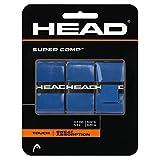 Head Over Grip Super Comp da 3Pezzi, Blu, Taglia Unica, 285088-Bl