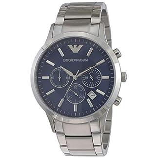 Emporio Armani Reloj Analógico para Hombre de Cuarzo con Correa en Acero Inoxidable AR2448