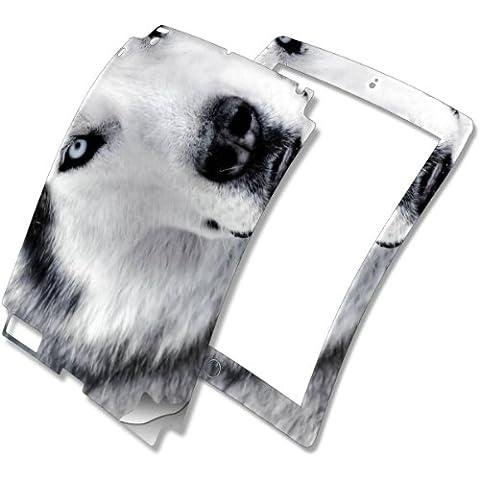Husky, Skin Autoadesivo Sticker Adesivi Pelle Cover Decal Set con Disegno Strutturato con Apple iPad 2,3,4
