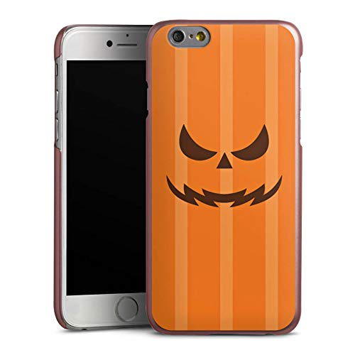 DeinDesign Hülle kompatibel mit Apple iPhone 6s Handyhülle Case Gesicht Halloween Gruselig
