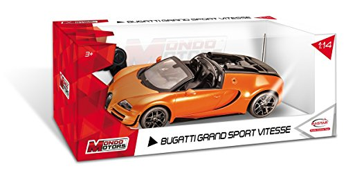 Mondo Motors - 63262 - Radio Commande - Voiture - Bugatti Grand Sport Vitesse - Echelle 1/14 - Modèle aléatoire
