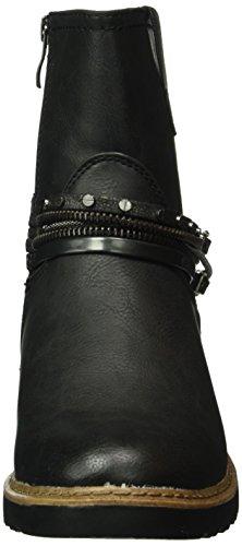 Marco Tozzi Damen 25810 Kurzschaft Stiefel Schwarz (Black Ant.Comb 096)