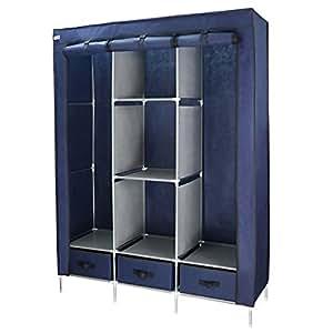 finether tissu non tiss tissu de rangement armoire simple armoire v tements organisateur de. Black Bedroom Furniture Sets. Home Design Ideas
