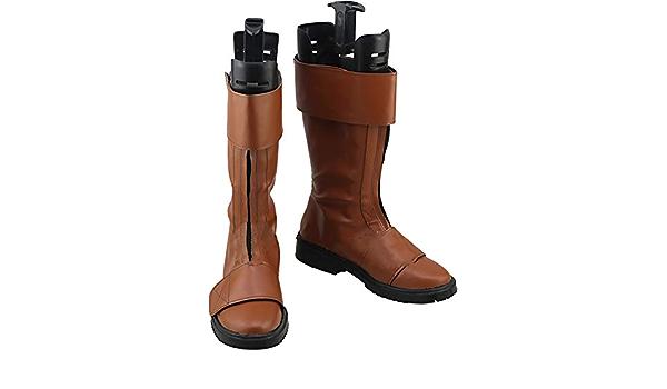 GSFDHDJS Cosplay Bottes Chaussures for Star Wars Kylo Ren