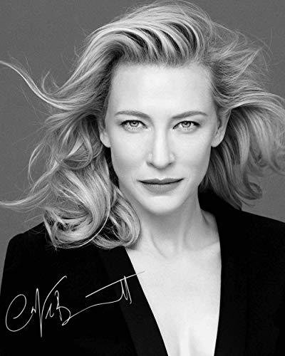 Frame Smart CATE Blanchett #1 | gedrucktes Unterschriftenfoto | 10x8 Größe passt 10x8 Zoll Rahmen | Fotoqualität Labordrucker | Fotoanzeige | Geschenk Sammlerstück