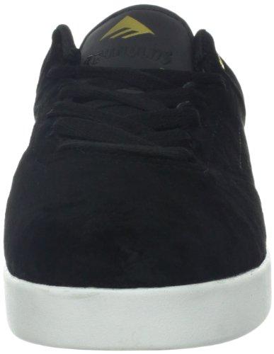 Emerica Emerica Mns The Reynolds Low, Baskets mode homme Noir (Black White Gold)