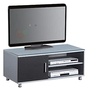 lcd tv unterschrank silber schwarz tv 09a diamant 1148 k che haushalt. Black Bedroom Furniture Sets. Home Design Ideas