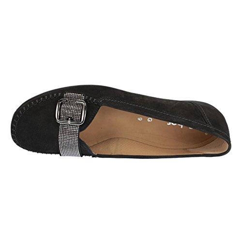 Gabor Shoes 42.523.47_Gabor Damen Mokassin Schwarz