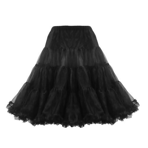 50er Jahre Rockabilly Kleid INKLUSIVE PETTICOAT Vintage Retro Polka Dot - Patsy, Größe:38 -