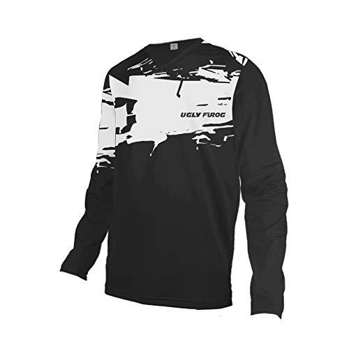 Uglyfrog Motocross Manica Lunga/Corta Downhill Shirt 2019-2020 Adulti MX Jersey Maglia Moto Enduro Fuoristrada Shirt Quad Cross Cam