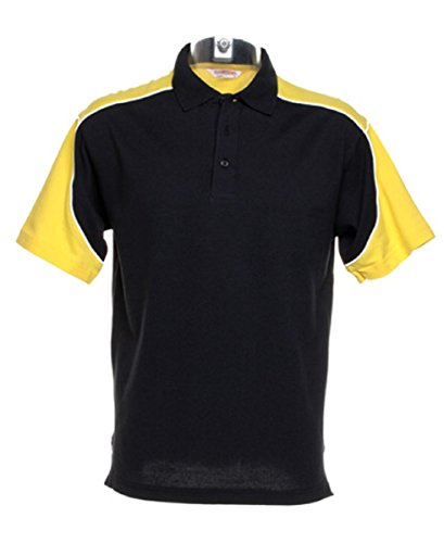 Gamegear -  Polo  - Uomo Multicolore - Nero/giallo