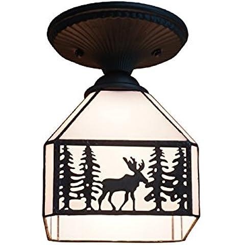 FEI&S fashion living room bedroom lampada da soffitto di vetro