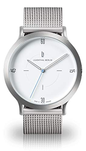 Lilienthal Berlin L2 Urbania Silber Mesh Ltd. TIMESTUFF Edition Made in Germany