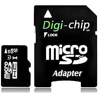 Digi-Chip 16 GO CLASS 10 MICRO-SD CARTE MÉMOIRE POUR Samsung Galaxy J1, Galaxy J2, Galaxy J3, Galaxy J5, Galaxy J7, J2 Pro & J3 Pro