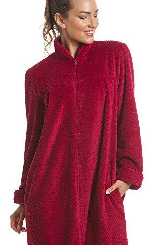 C39est la mode robe de chambre douce en polaire for Robe de chambre polaire femme avec fermeture eclair