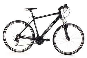 KS Cycling 'Crossbike 28heed Schwarz RH 56cm