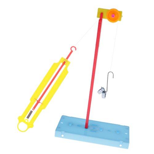 Physikalisches Experiment Spielzeug - Bewegliche Kraftmesser 17 x 9 x 2cm