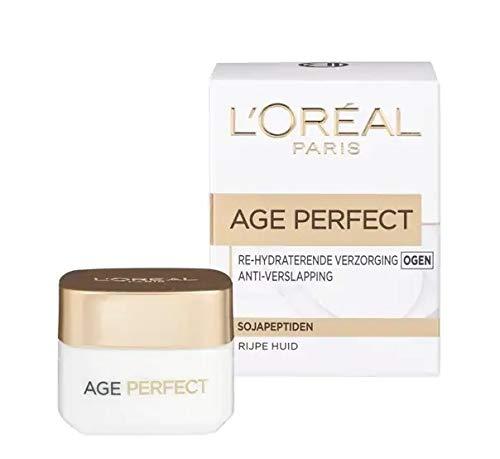 3er Pack - L'Oréal Age Perfect Augencreme - Reife Haut (Rijpere Huid) - 15 ml -