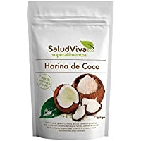 Harina de coco ECO Salud Viva 500 g