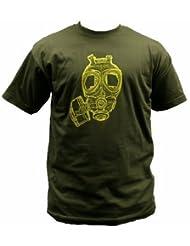 Dallaswear - T-Shirt Homme Imprimé Militaire Armée Manche Courte