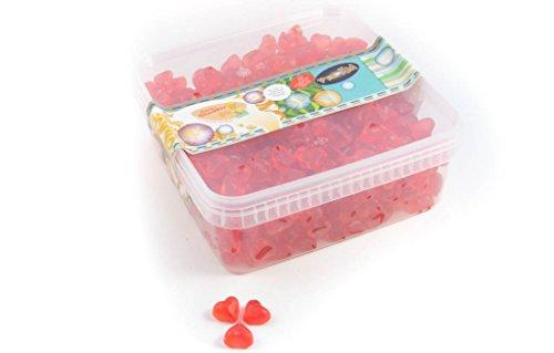Deine Naschbox - Zuckerfreie-Fruchtgummi-Herzen - 1kg Box