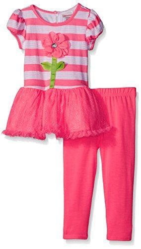 Youngland Entzückendes Tutu-Kleid + Legging Gr. 104,110,116,122 Größe 104 - Outfits Mädchen Youngland Für