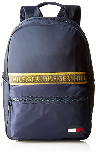Tommy Hilfiger Herren Sport Mix Backpack Solid Geldbörse, Blau (Tommy Navy), 1x1x1 cm