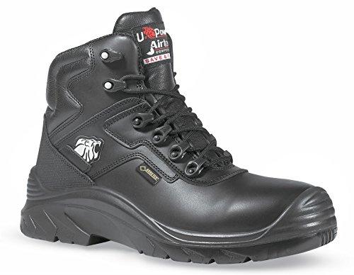 Gore di nero puntale U Black in Tex metallo da venature uomo POWER stivali di sicurezza Drop 1wn1x68qXE