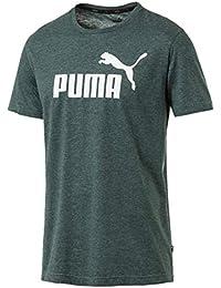 Puma - Camiseta de Manga Corta para Hombre, Hombre, 852419, Ponderosa Pine Heather