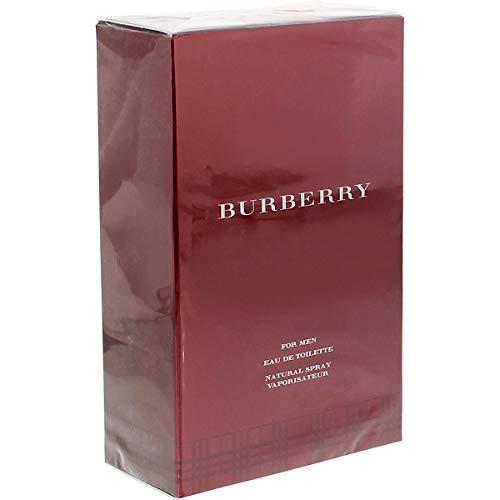 Burberry For Men Eau de Toilette für Herren, 100 ml (Parfum Männer Burberry)