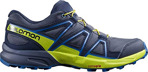 Salomon Speedcross J Ombre Blue Sulphur Spring Nautical Blue Bleu