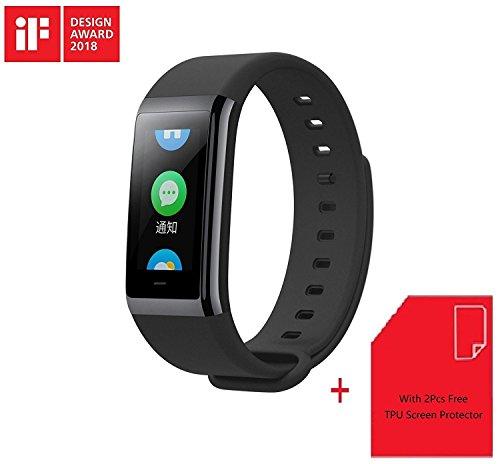 Xiaomi Huami Amazfit Cor Sport Frecuencia Cardíaca Smartwatch SIKAI [12días de espera] [50m Impermeable] Fitness Tracker Pulsera Inteligente Deporte Actividad Tracker Compatible con Smartphone