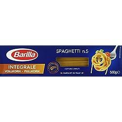 Barilla Vollkorn Pasta Spaghetti n. 5 Integrale – 1er Pack (1x500g)