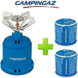 ALTIGASI FORNELLO FORNELLINO A Gas Camping 206 S Stove CAMPINGAZ Potenza 1.230 Watt - Peso 280 Grammi + 2 Pezzi…