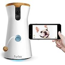 Furbo Hundekamera : Leckerli-Ausgabe, HD-WiFi-Hundekamera und 2-Wege-Audio, wie gesehen in der Ellen DeGeneres Show