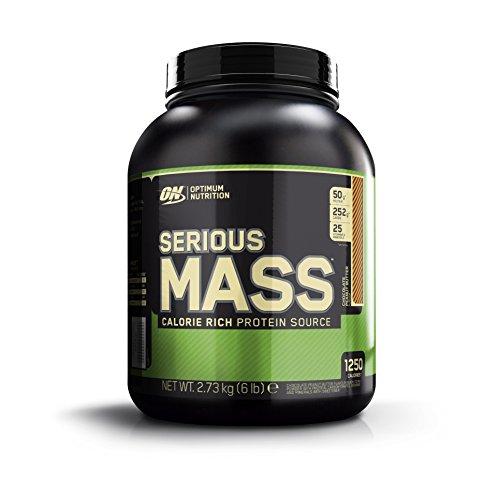 Optimum Nutrition Serious Mass Weight Gain Powder, 2.73 kg, Chocolate Peanut Butter