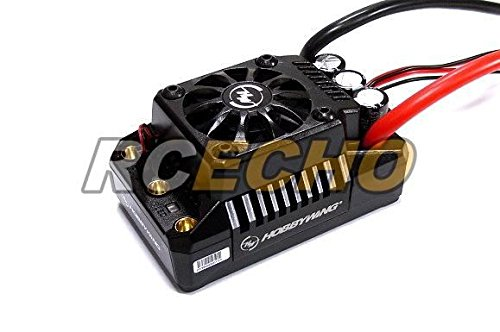 RCECHO 174; HOBBYWING EZRUN Max5 200A RC Brushless Motor ESC Speed Controller SL556 with 174; Full Version Apps Edition