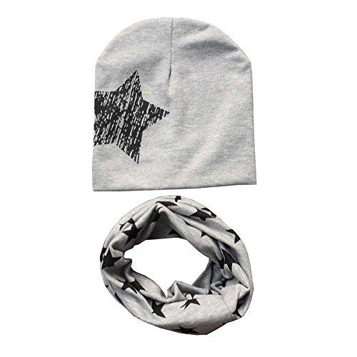 Patgoal Baby Mütze O-Ring Schal Jungen Mädchen Kleinkinder Schal Kind Schal Hüte Mützen