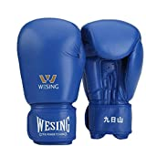 Guantoni da boxe Junior Kids & Adult Taglie Muay Thai Training in pelle Sparring Punching Bag, 3,8 once