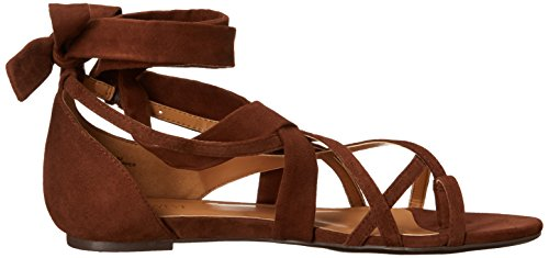 Nine West October Toile Sandales Gladiateur brown