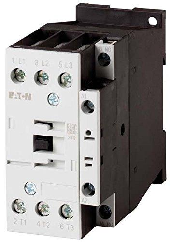Eaton 277265 Leistungsschütz, 3-polig + 1 Schließer, 15 kW/400 V/AC3
