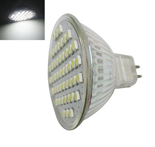 Preisvergleich Produktbild GRV MR16 G5.3 48-3528 SMD LED Licht 3 W G5.3-Stiftsockellampe Lampe Leuchte Strahler Leuchtmittel,  cool white,  10er-Pack 3.00